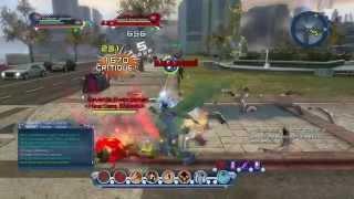 getlinkyoutube.com-DCUO BEST FIGHT PART 2 EARTH FIRE MENTAL ICE MUNITION PVP