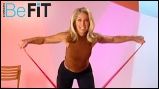 getlinkyoutube.com-Denise Austin: Integrated Pilates Workout- Upper and Lower Body