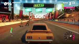 getlinkyoutube.com-Forza Horizon - Mustang Vs. PLANE! [HD]