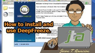 getlinkyoutube.com-How to install and use DeepFreeze. (Tag-lish)