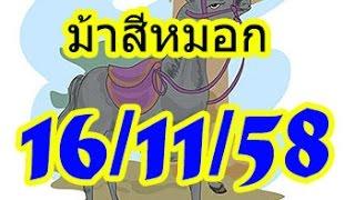 getlinkyoutube.com-เลขเด็ด ม้าสีหมอก งวดวันที่ 16/11/2558