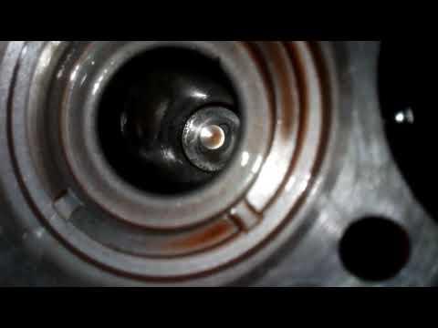 Расположение сальника кпп в Mazda Просид Марви