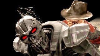 Mortal Kombat IX All Fatalities on The Terminator Costume Mod PC 4k UHD 2160p