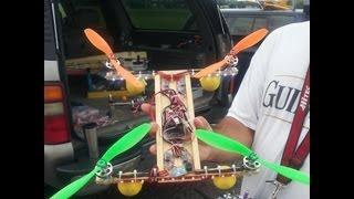 getlinkyoutube.com-RC Homemade Quadcopter