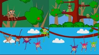 getlinkyoutube.com-เพลงลิง เจี๊ยก เจี๊ยก เจี๊ยก (ฉบับการ์ตูน)  | เพลงเด็ก