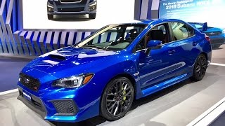 getlinkyoutube.com-2018 Subaru WRX STI – Redline: First Look – 2017 NAIAS