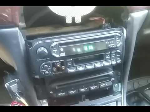 AUX на штатную магнитолу Chrysler 300m