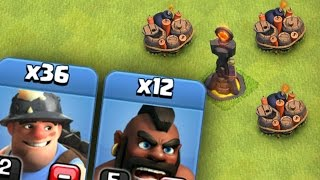 "getlinkyoutube.com-Clash of Clans: ""WOW... I CAN'T BELIEVE THIS!"" MINER & HOG TEAM UP"