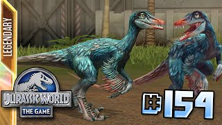 getlinkyoutube.com-Troodon Arrives! || Jurassic World - The Game - Ep 154 HD