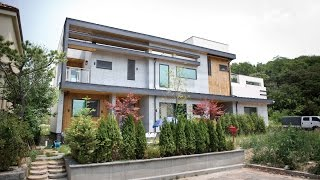 getlinkyoutube.com-[전원주택라이프] 전원주택, 용인 수지, 목조+콘크리트주택_(주)코원하우스