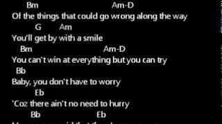 ERASERHEADS - WITH A SMILE (LIVE MUSIC)  lyrics w/ guitar chords