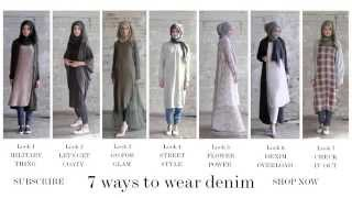 getlinkyoutube.com-Modest Fashion | Style Guide - 7 Ways to Wear Denim