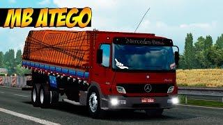 getlinkyoutube.com-Euro Truck Simulator 2 - Mod Mercedes Benz Atego 2425