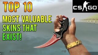 getlinkyoutube.com-CS GO - The Top 10 Most Expensive Skins In Existence!