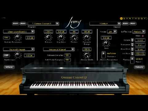 Synthogy Ivory Steinway Grand piano VST