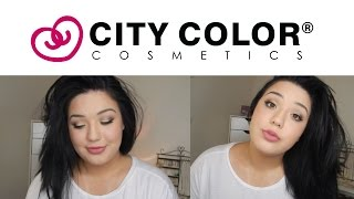 One Brand Tutorial City Color Cosmetics