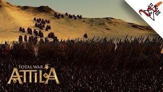 getlinkyoutube.com-Total War: Attila - 2200 War Elephants vs 2500 Pikemen | MASSIVE Battle