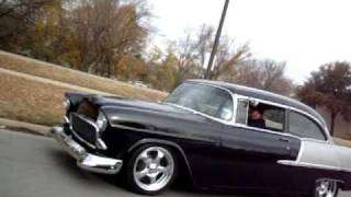 getlinkyoutube.com-Have you ever dreamed about a MEAN '55 Chevy? Was this it?