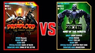 getlinkyoutube.com-Real Steel WRB DREADLORD VS Zeus (Champion) NEW ROBOT Halloween (Живая Сталь)