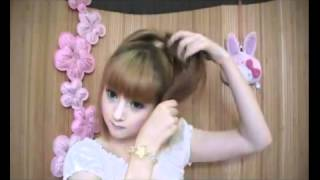 getlinkyoutube.com-ทำผมรูปหัวใจกัน^^ Shared by Missy Beauty Girl