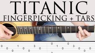 getlinkyoutube.com-Como tocar Titanic en guitarra facil tutorial punteo Fingerpicking y TAB Fácil ! paso a paso!