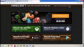 getlinkyoutube.com-สอนทำไอดีแท้ Minecraft