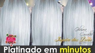 getlinkyoutube.com-FIZ Platinado em CASA E TIRANDO O AMARELO do cabelo! USANDO PRETO