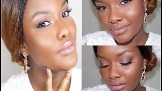 getlinkyoutube.com-Maquillaje De Novia Para Piel Negra, Morena U Oscura / 1° Vídeo.........TUTORIAL DC