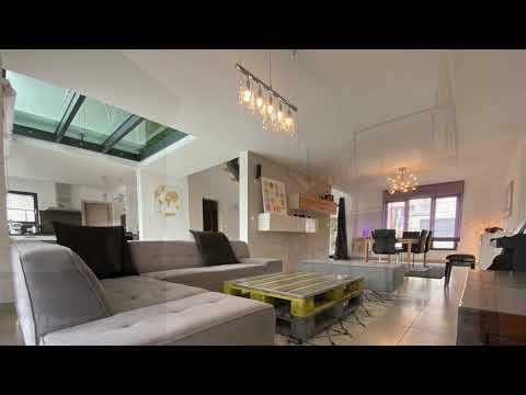 Maison d'architecte F7 à ZOUFFTGEN avec 4 chambres
