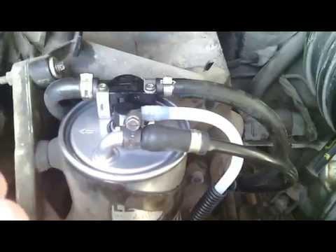 ВНИМАНИЕ БЕЗРУКИЕ МАСТЕРА-Замена топливного фильтра