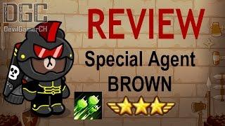 "getlinkyoutube.com-Line Rangers - รีวิว BROWN ตัวแทนพิเศษ 8★ ""ตัวฆ่ามง ยิงแนวหน้าดีมากๆ"" (Review Special Agent Brown)"