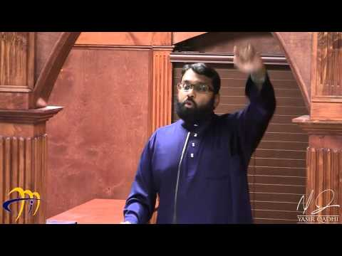 Tafsir Surat al-Fatihah 14: The Eloquence of the Qur'an ~ Dr. Yasir Qadhi | 20th July 2014