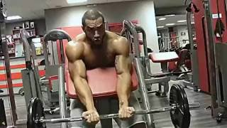 getlinkyoutube.com-Lazar Angelov arms workout hard 2016