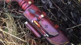 getlinkyoutube.com-custom piggy back leather sheath