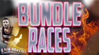 getlinkyoutube.com-NBA Live Mobile 16 Premium Bundle Race! 12 Premium Packs! 1 Topper! Who Will Win?!