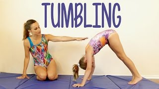 getlinkyoutube.com-Tumbling Tutorial! Gymnastics at Home, Tricks, Great for Kids, How to, Routine Exercises
