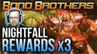 getlinkyoutube.com-Destiny Shield Brothers Nightfall Rewards x3 [Shield Brothers Cheese]