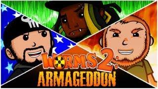 getlinkyoutube.com-Super Best Friends Brawl - Worms 2: Armageddon