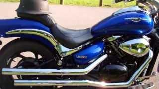 getlinkyoutube.com-Suzuki M50 with Vance & Hines Straight Shots