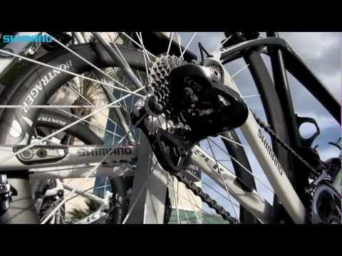 RadioShack Leopard Trek's bikes for 2013 including new Dura-Ace Di2