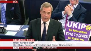 Nigel Farage annihilates the EU -