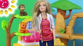 getlinkyoutube.com-Barbie ratuje zwierzątka! - Barbie - Barbie Careers & the Lion Guard - Bajki po polsku