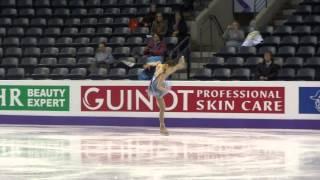2013 Canada WFC YUNA KIM sp dress rehearsal