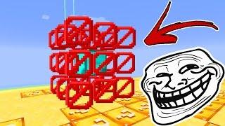 Minecraft CUBÃO : TROLLAGEM DO TOTEM !!! (MINECRAFT TROLL)