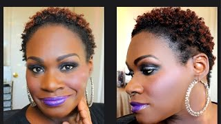 Natural Hair Tutorial| Twist Out on Dry 4c Hair