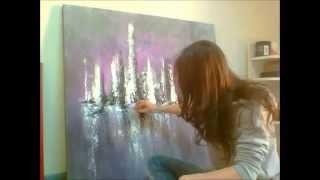 getlinkyoutube.com-peinture acrylique 5 Audrey Claire
