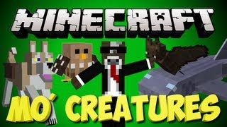 Minecraft: MO Creatures Lets Play | NEW UPDATE - 2 HEADED OGRES | Ep. 61