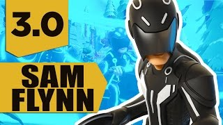 getlinkyoutube.com-Disney Infinity 3.0: Sam Flynn Gameplay and Skills (Tron Legacy)