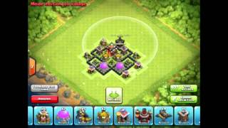 getlinkyoutube.com-Clash Of Clans [FR] - Le meilleur HDV 4 (Hybride)