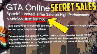 getlinkyoutube.com-Rockstar Now Giving SECRET DISCOUNTS to GTA Online Players But Not Everyone is Getting Them!
